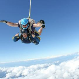 Skydiving from 15000ft!